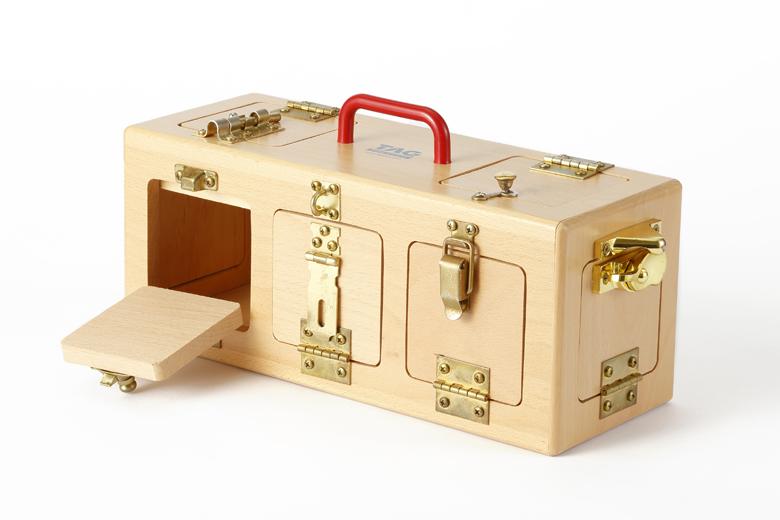 手を使って記憶するロックボックス