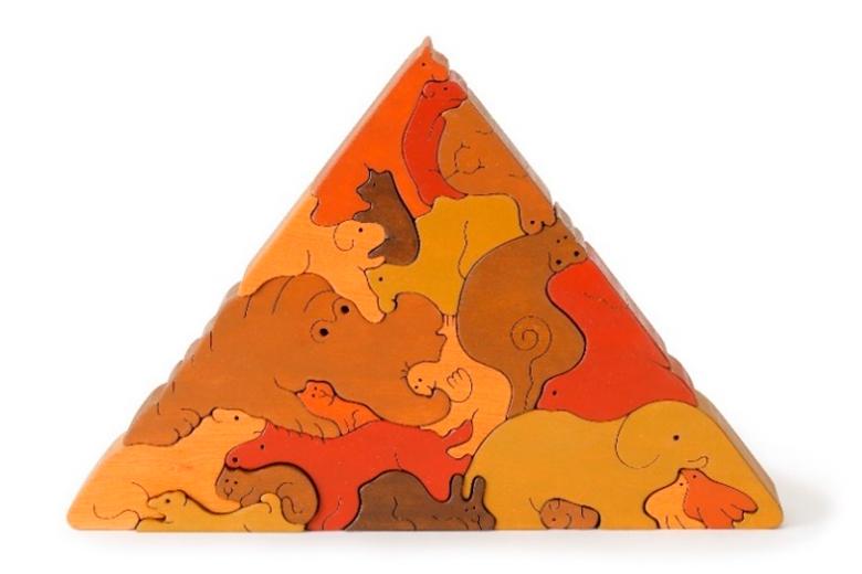 動物のピラミッド